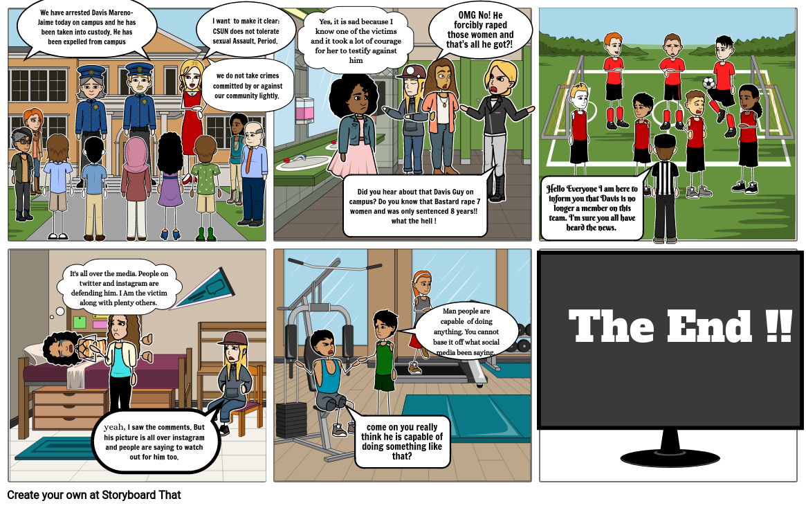 Sexual Violence Storyboard Pt 2