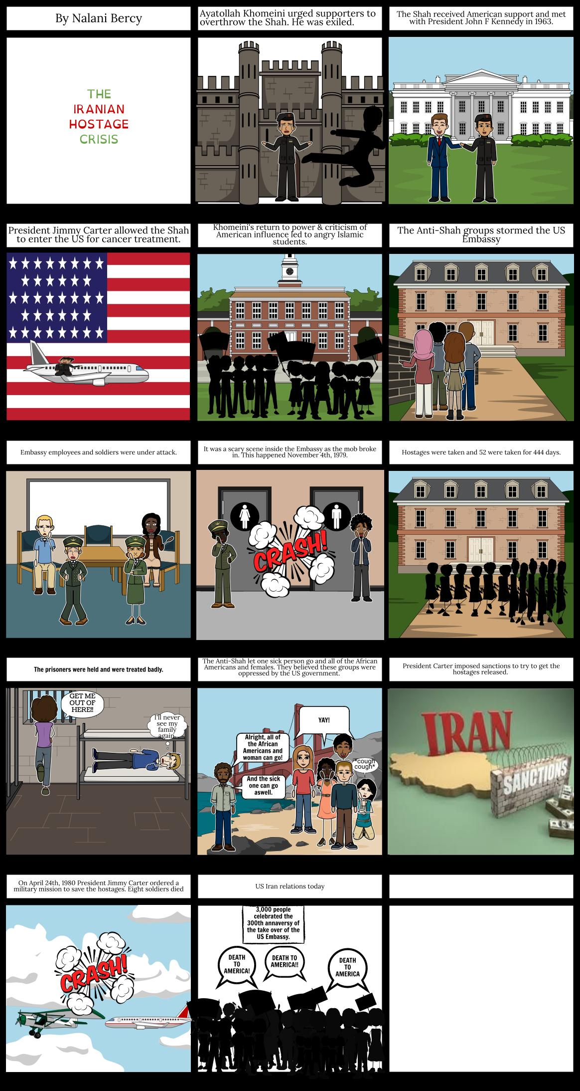 The Iranin Hostage Crisis