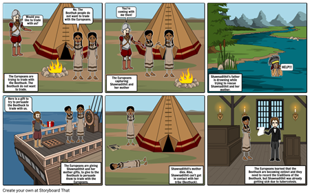 European Imperialism Impact on Beothuck