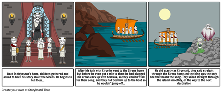 The Sirens, Odysseus Project