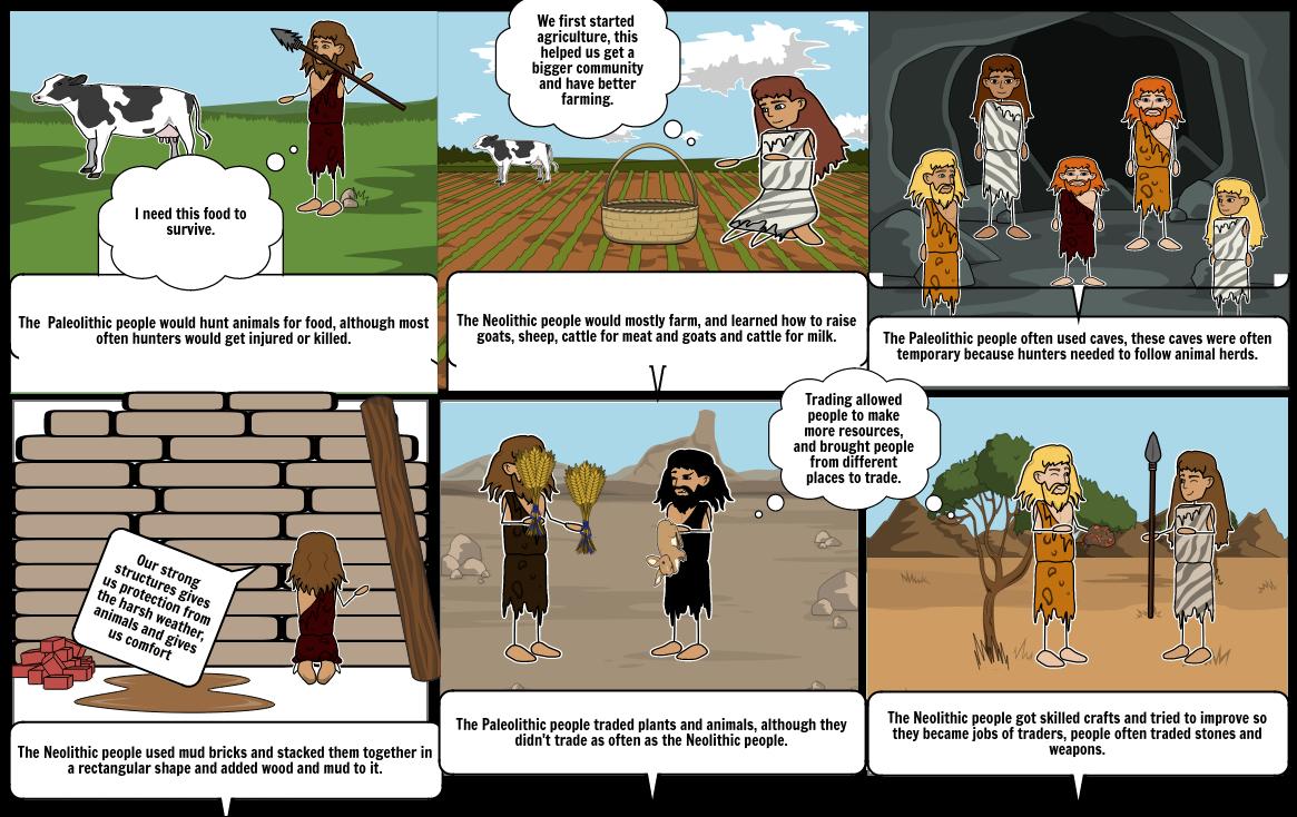 Stone Age comic