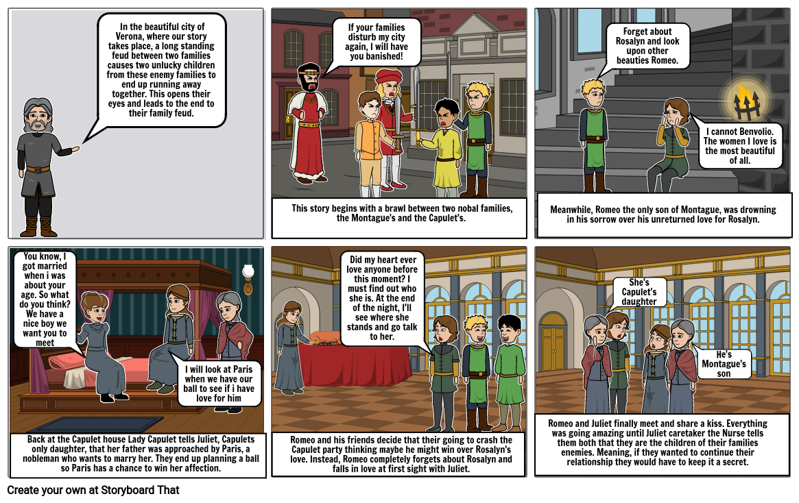 Romeo and Juliet (Childrens Book) PART 1