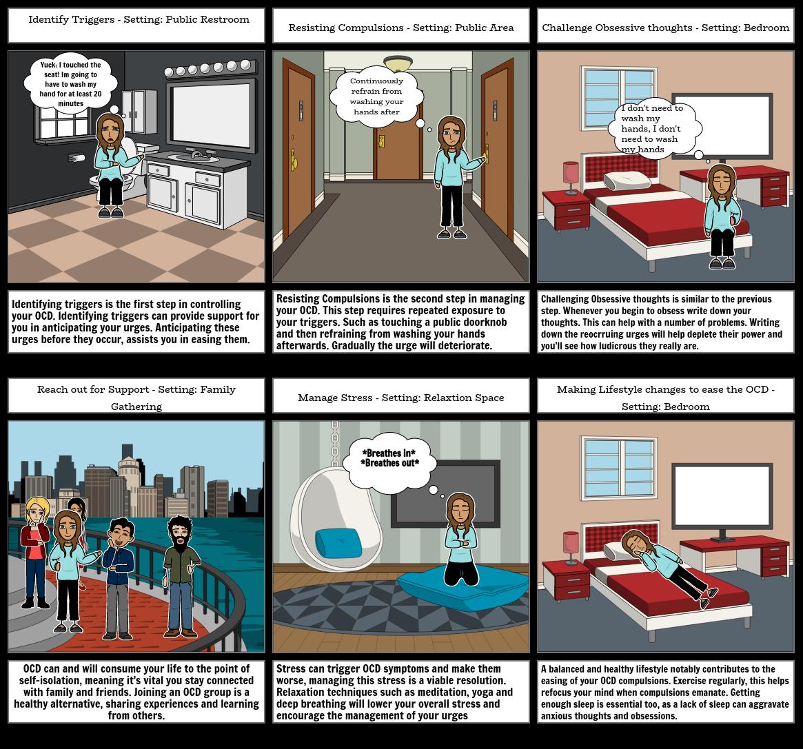 PDHPE - Storyboard