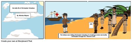 The Daily life of Christopher Columbus