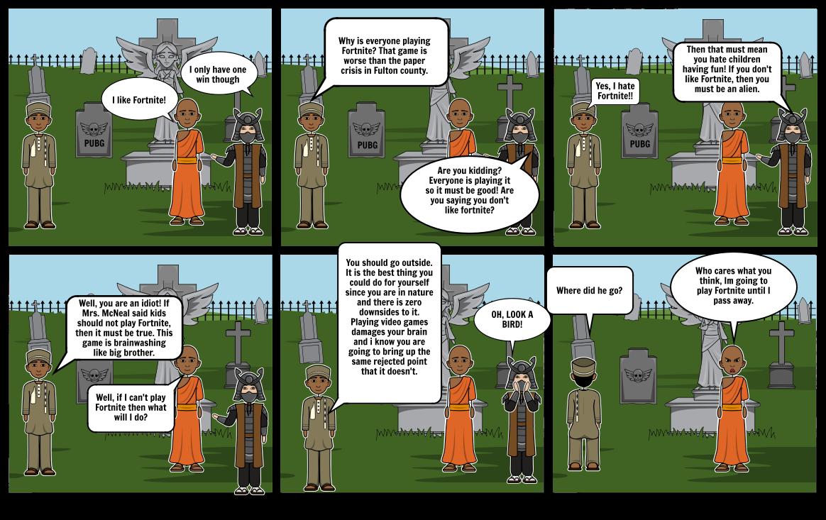 McNeal Dialog Comic