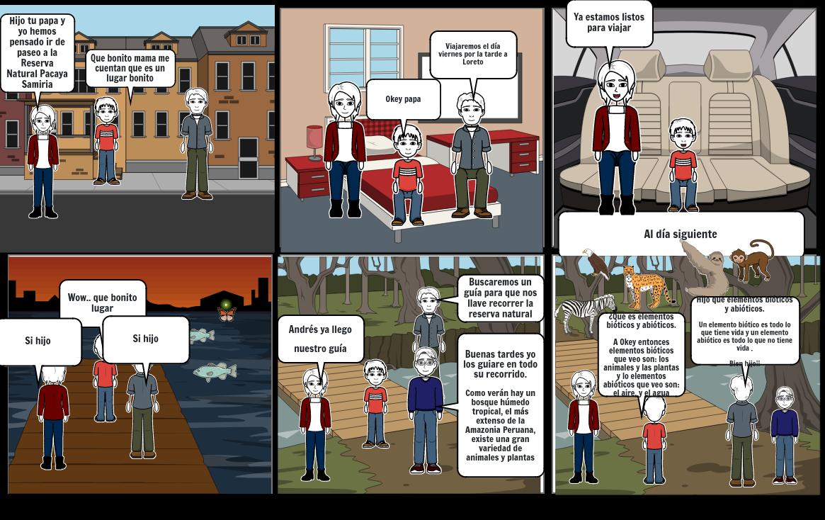 Historieta-Los ecosistemas