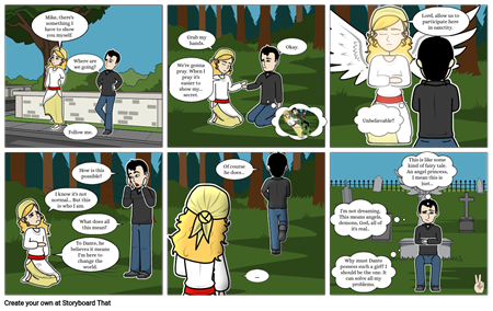 Angelic: Mike Learns The Truth