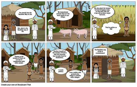 Neolithic Age Cartoon Page 2