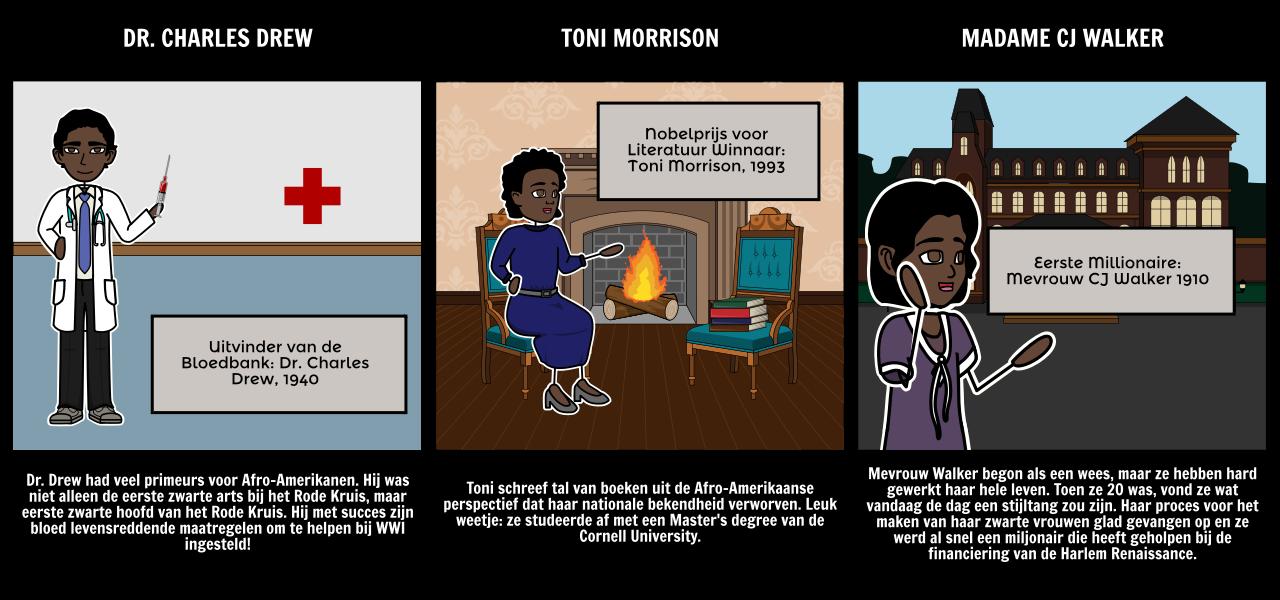 Black History Month - Firsts in Zwarte Geschiedenis