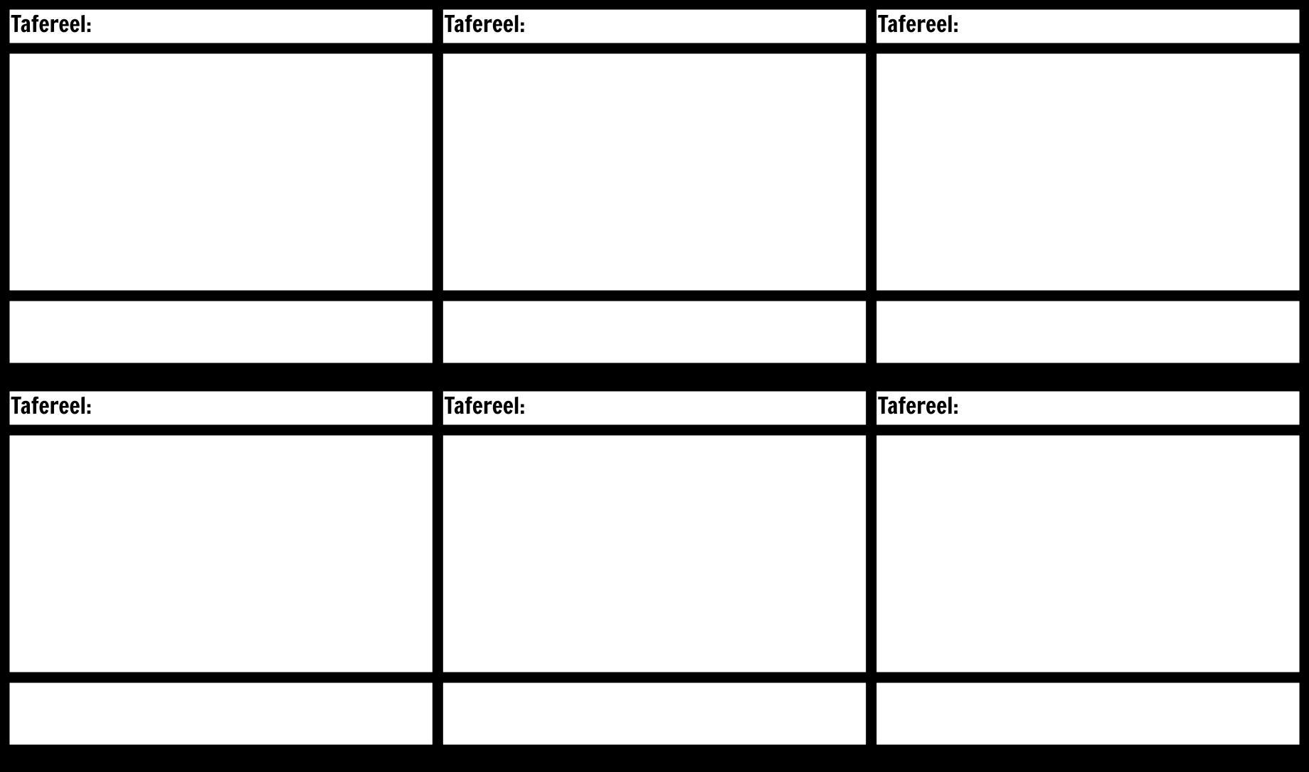 Blank Storyboard Template Film Storyboard Par Nl Examples