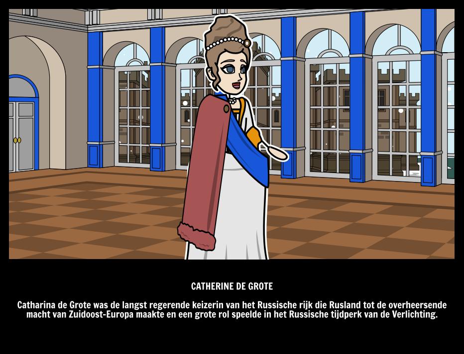Catharina de Grote van het Russische Rijk   Geweldige Mensen
