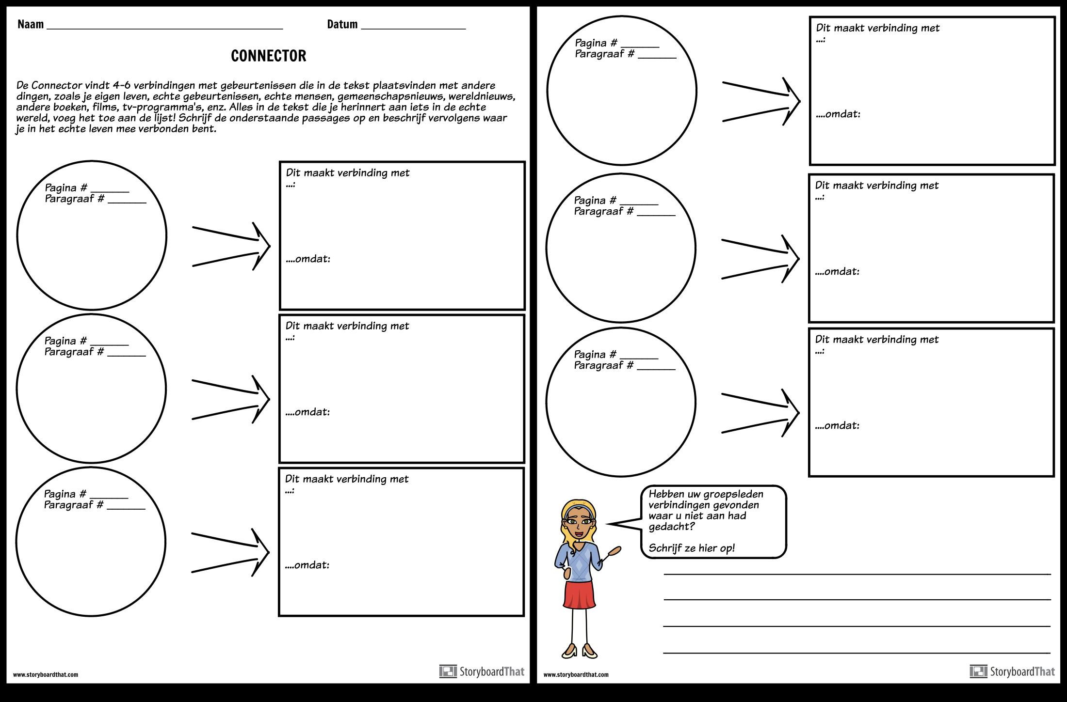 Connector Storyboard Door Nl Examples