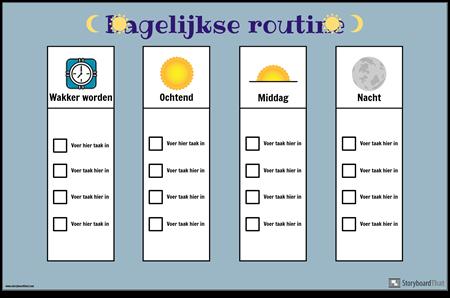 Dagelijkse Routekaart