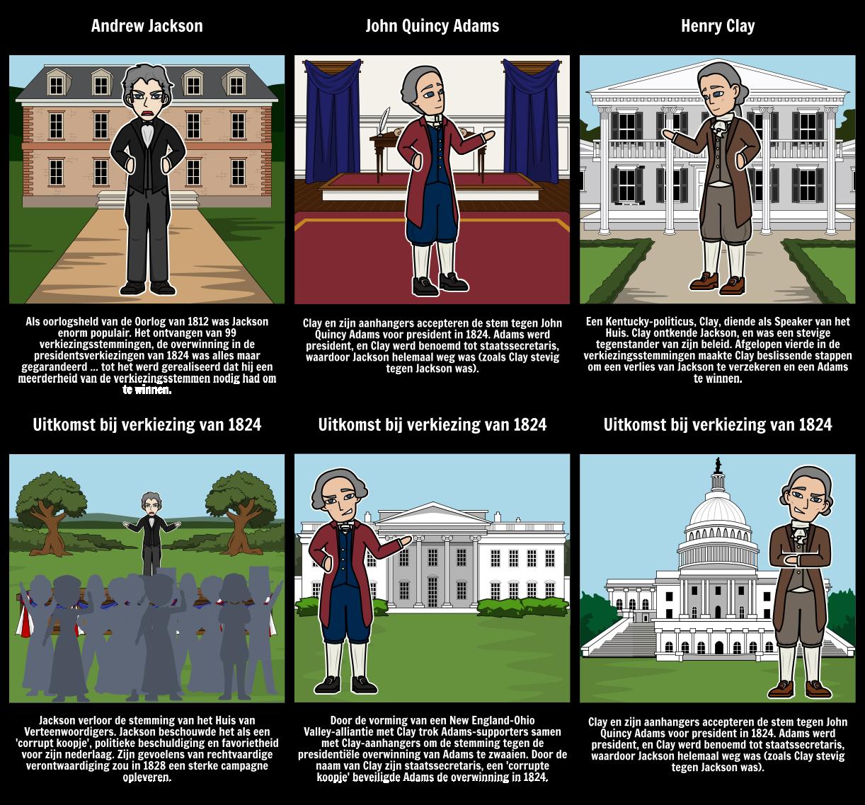 De verkiezing van 1824: een corrupte koopje