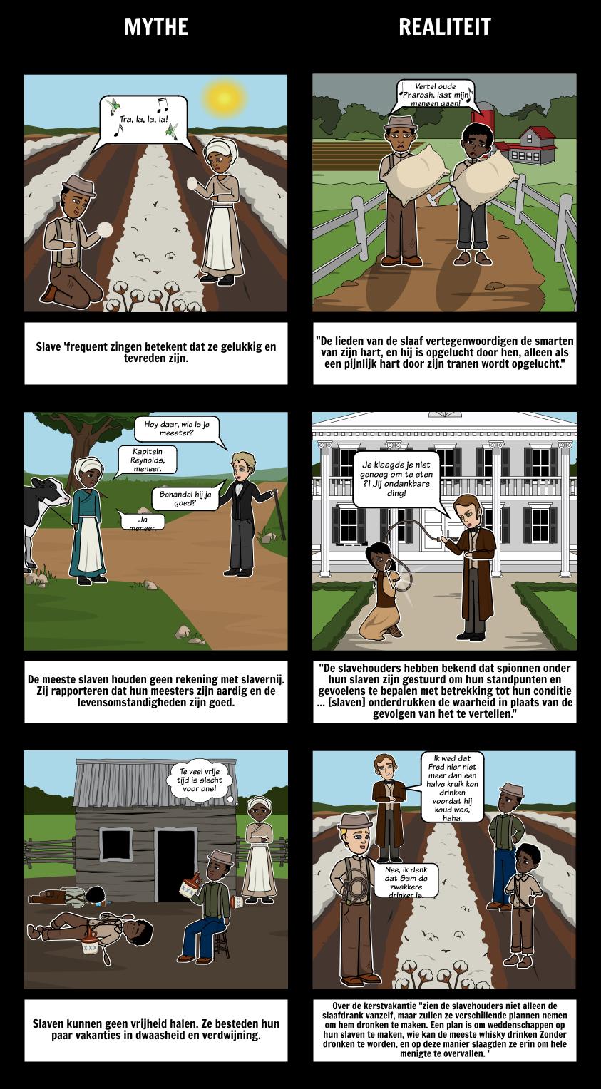 Een Vertelling van het Leven van Frederick Douglass Mythbusters