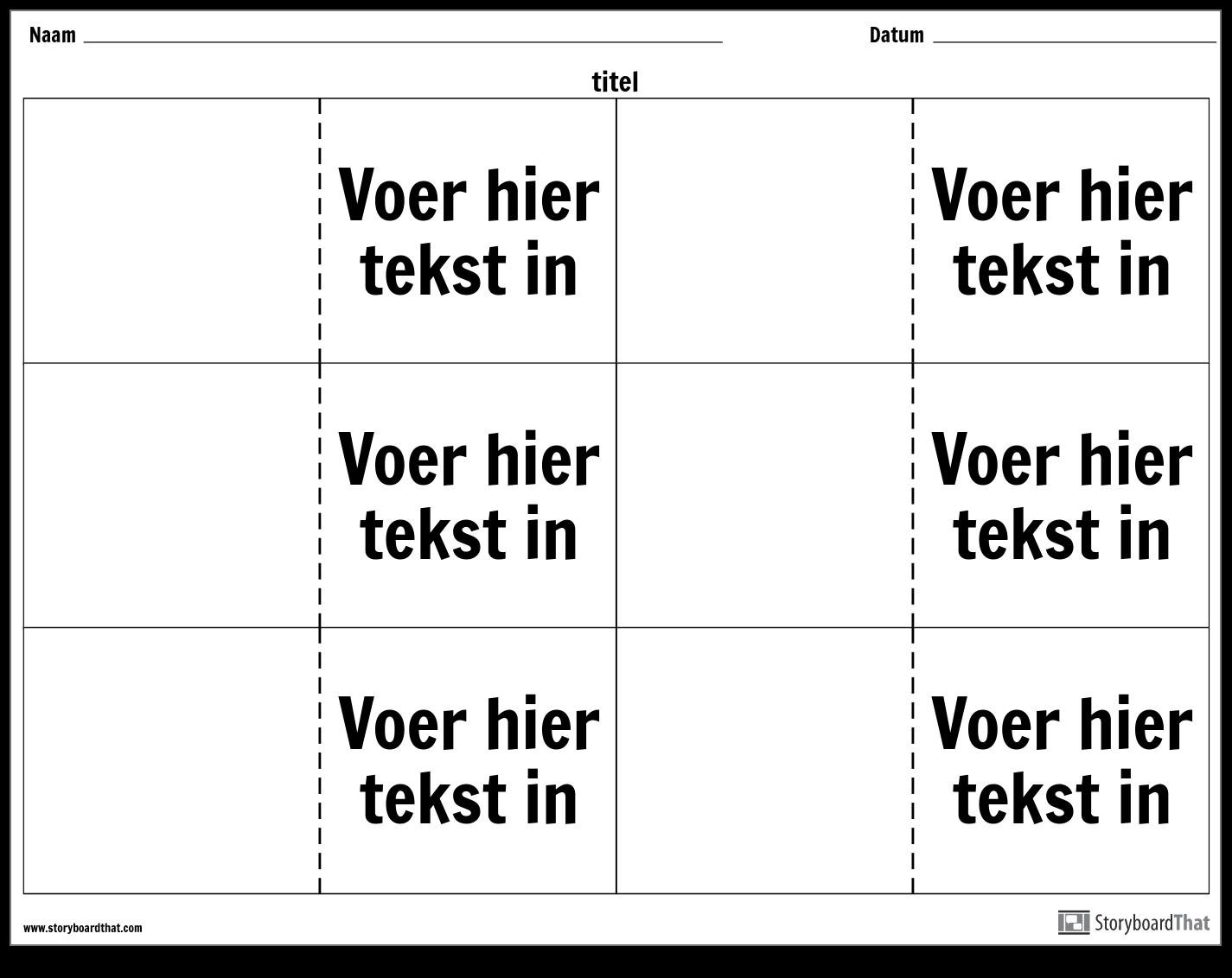 Flashcards - 6 Omhoog