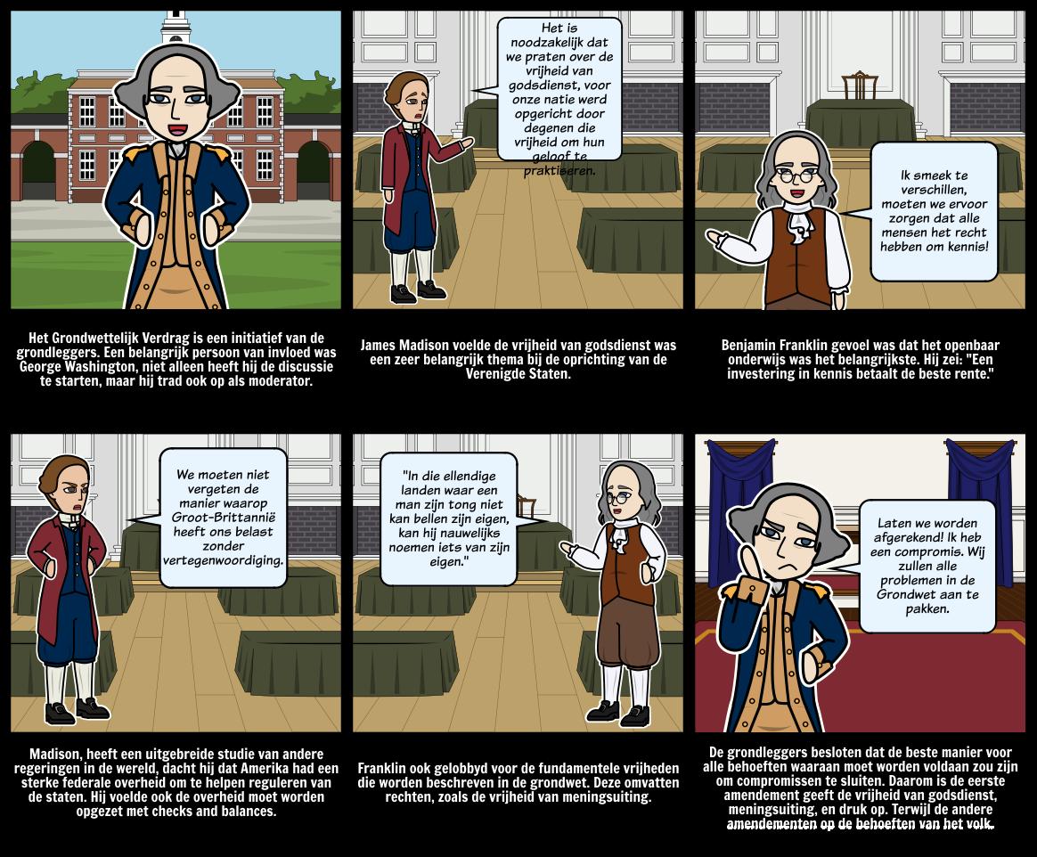 Geschiedenis van de VS - Founding Fathers