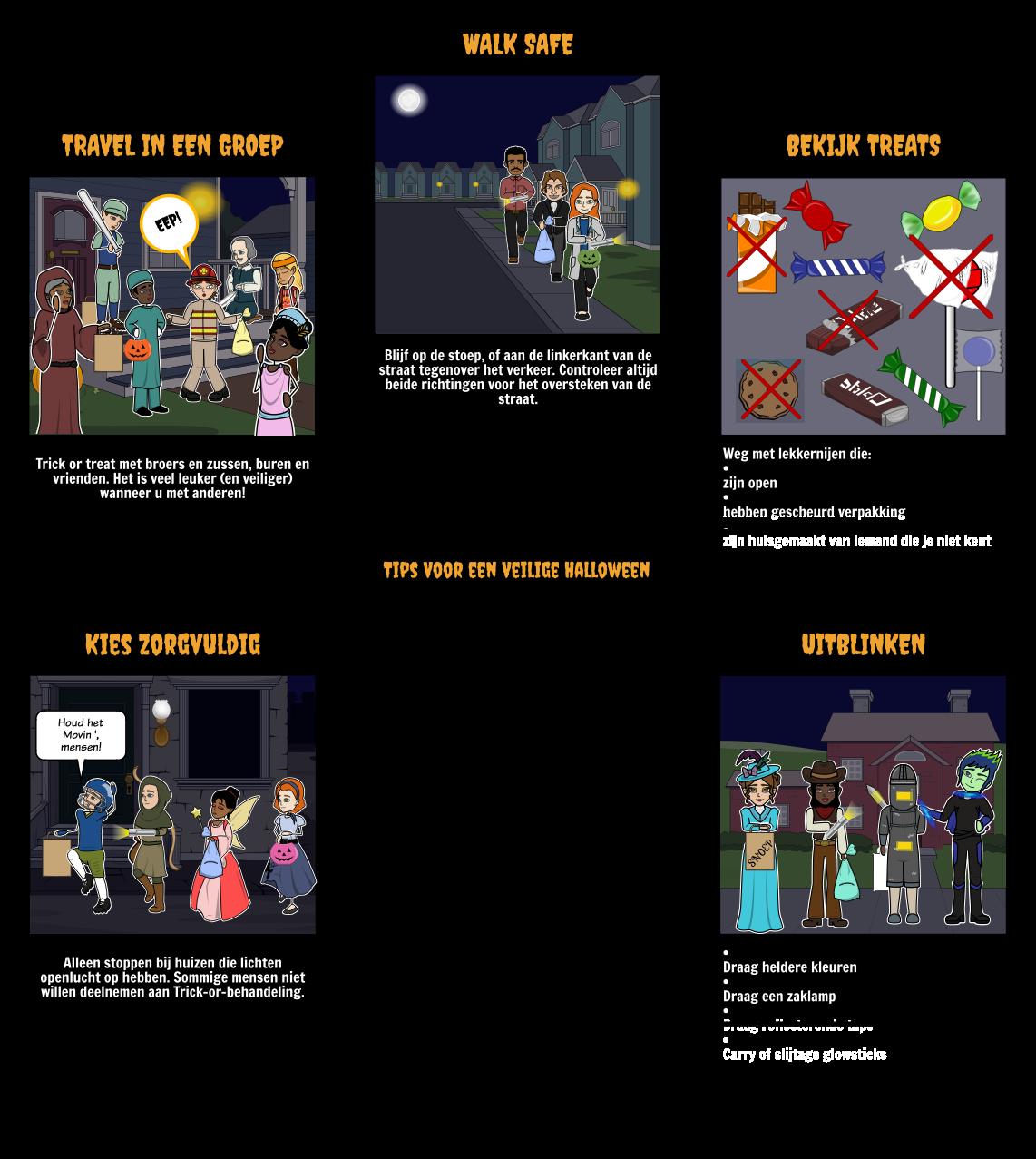 Halloween Activiteiten - Veiligheid