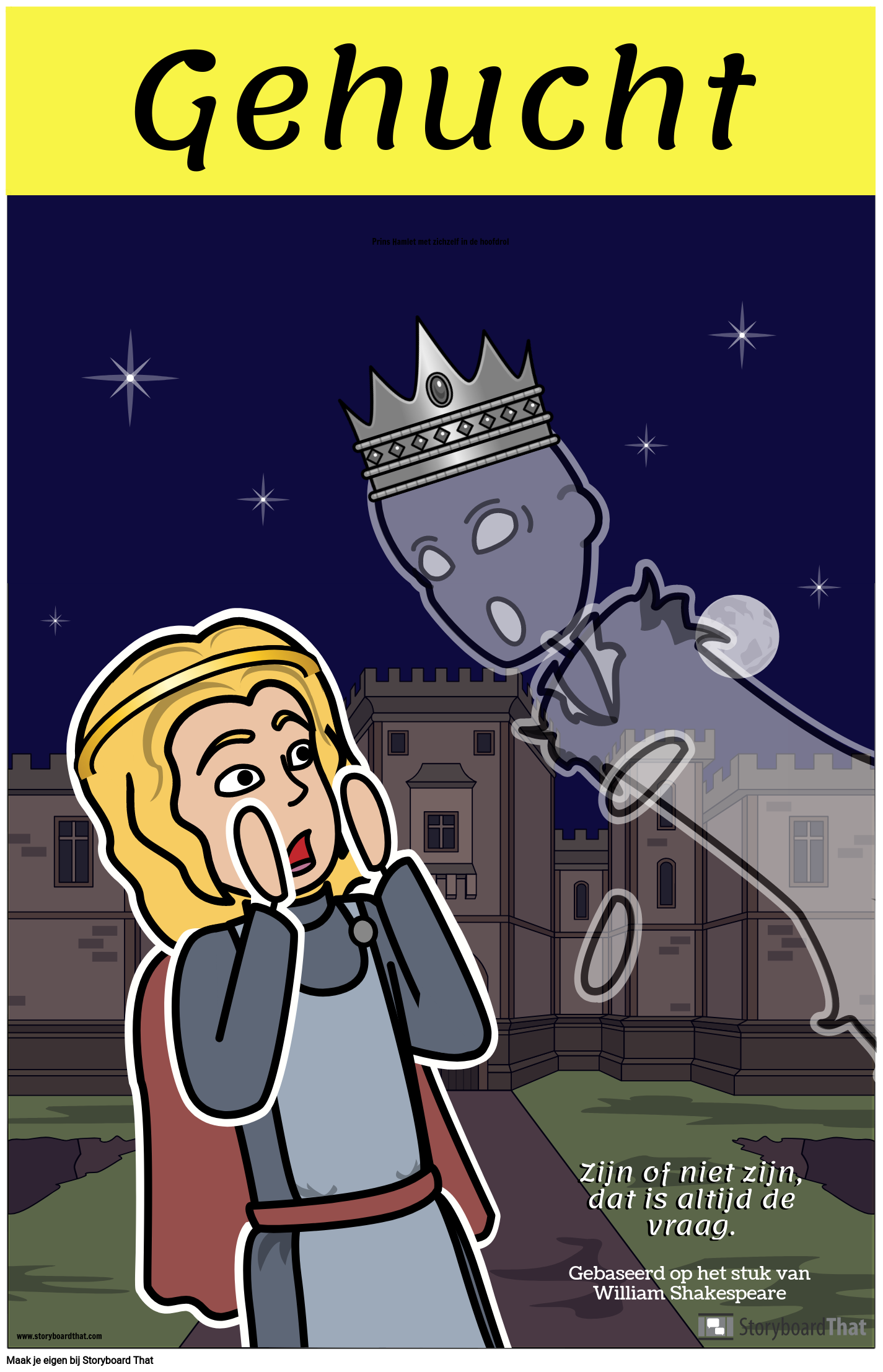 Hamlet ELA-poster