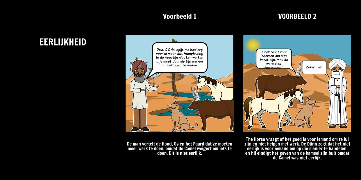 Hoe de Camel Kreeg Zijn Hump - Theme