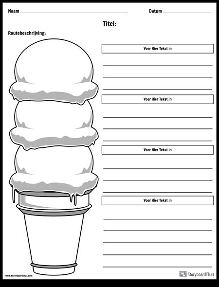 Ice Cream Cone Paragraaf