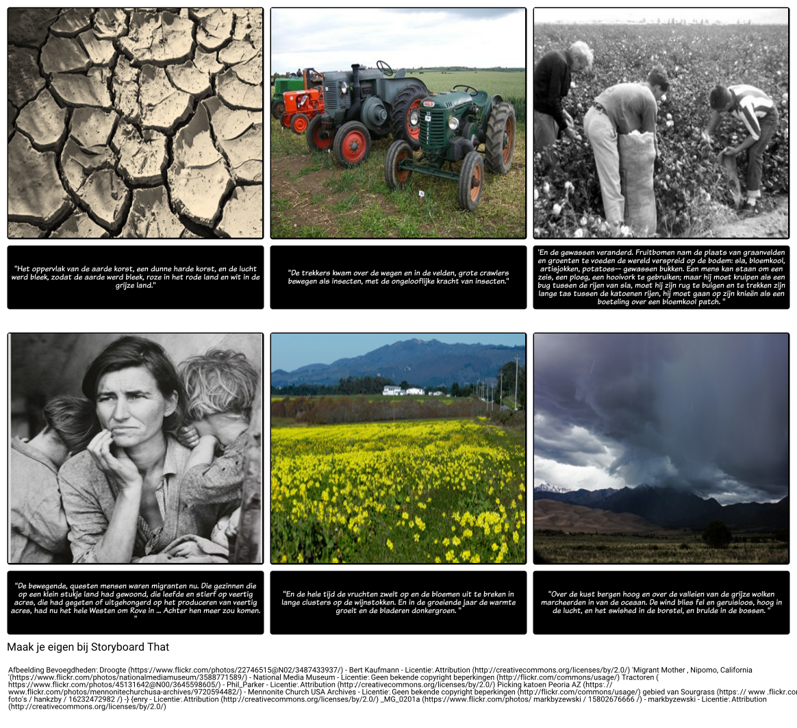 Imagery in The Grapes of Wrath