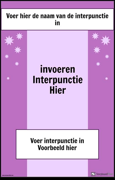 Interpunctie Poster 2