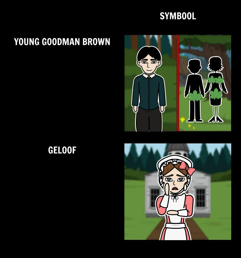 Jonge Goodman Brown Symboliek en Allegorie