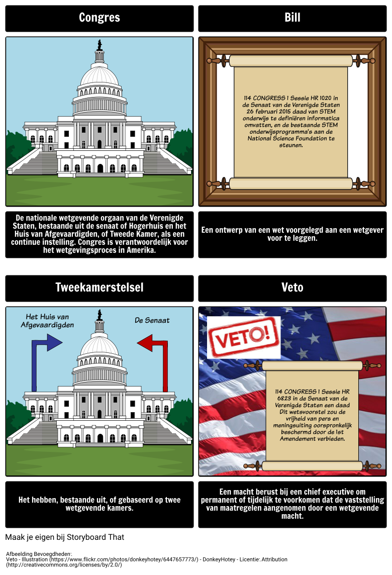 Legislative Branch Woordenschat
