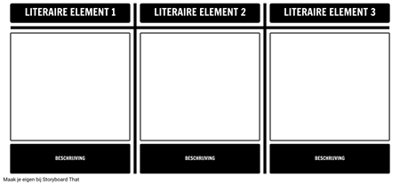 Literaire Element Scavenger Hunt