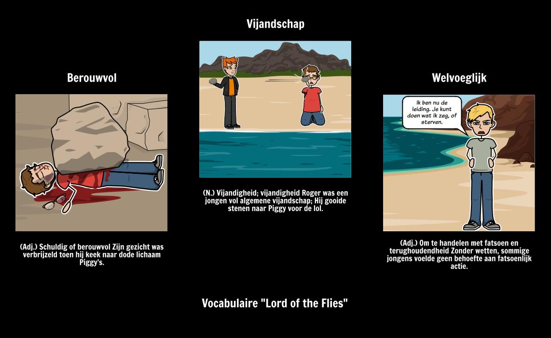 Lord of the Flies - Woordenschat