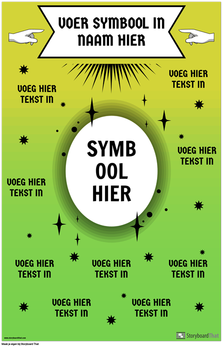 Math Symbool Poster