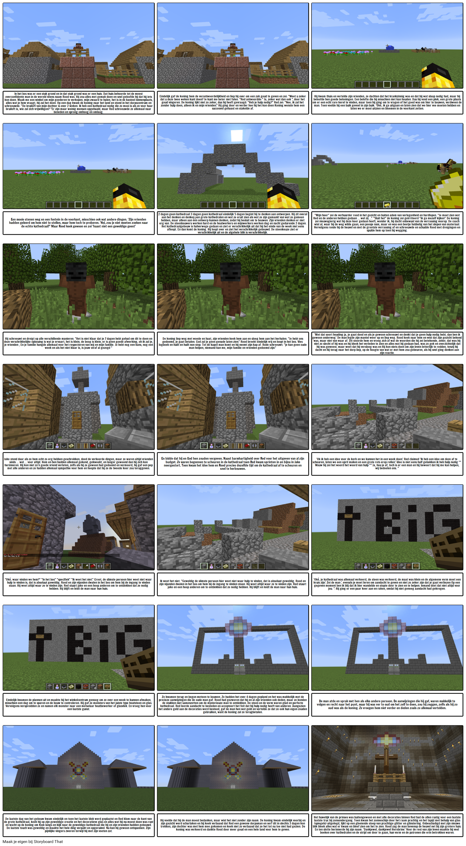 Minecraft Student Voorbeeld