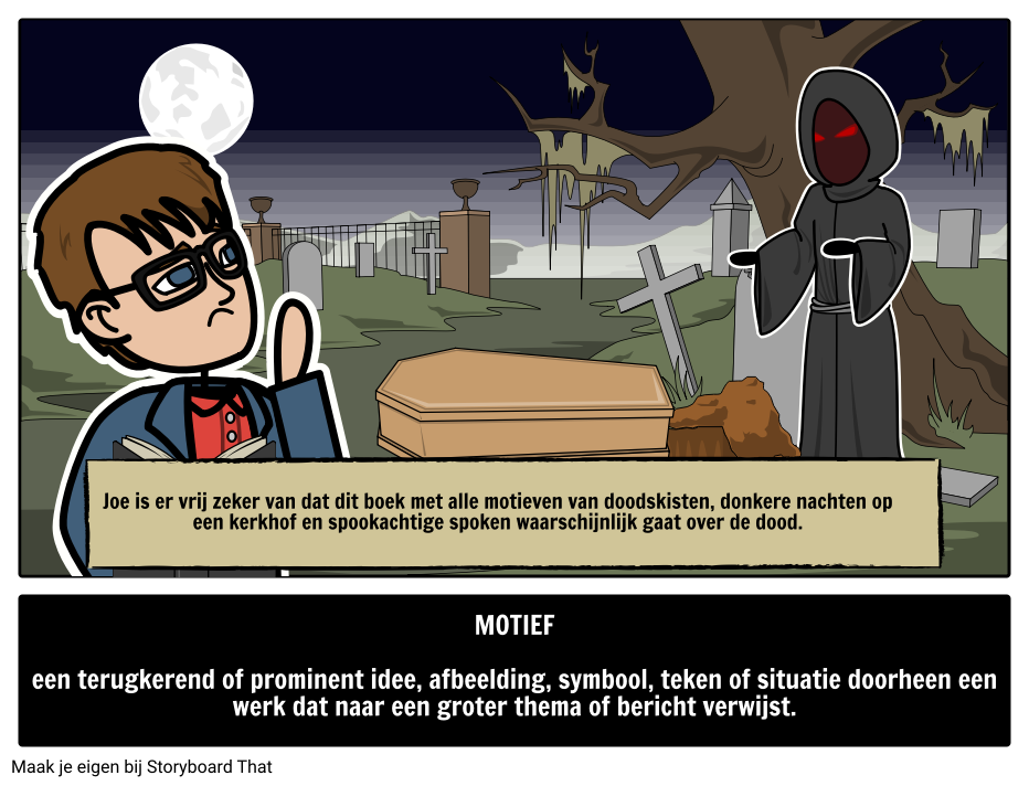 Motiefdefinitie Storyboard By Nl Examples