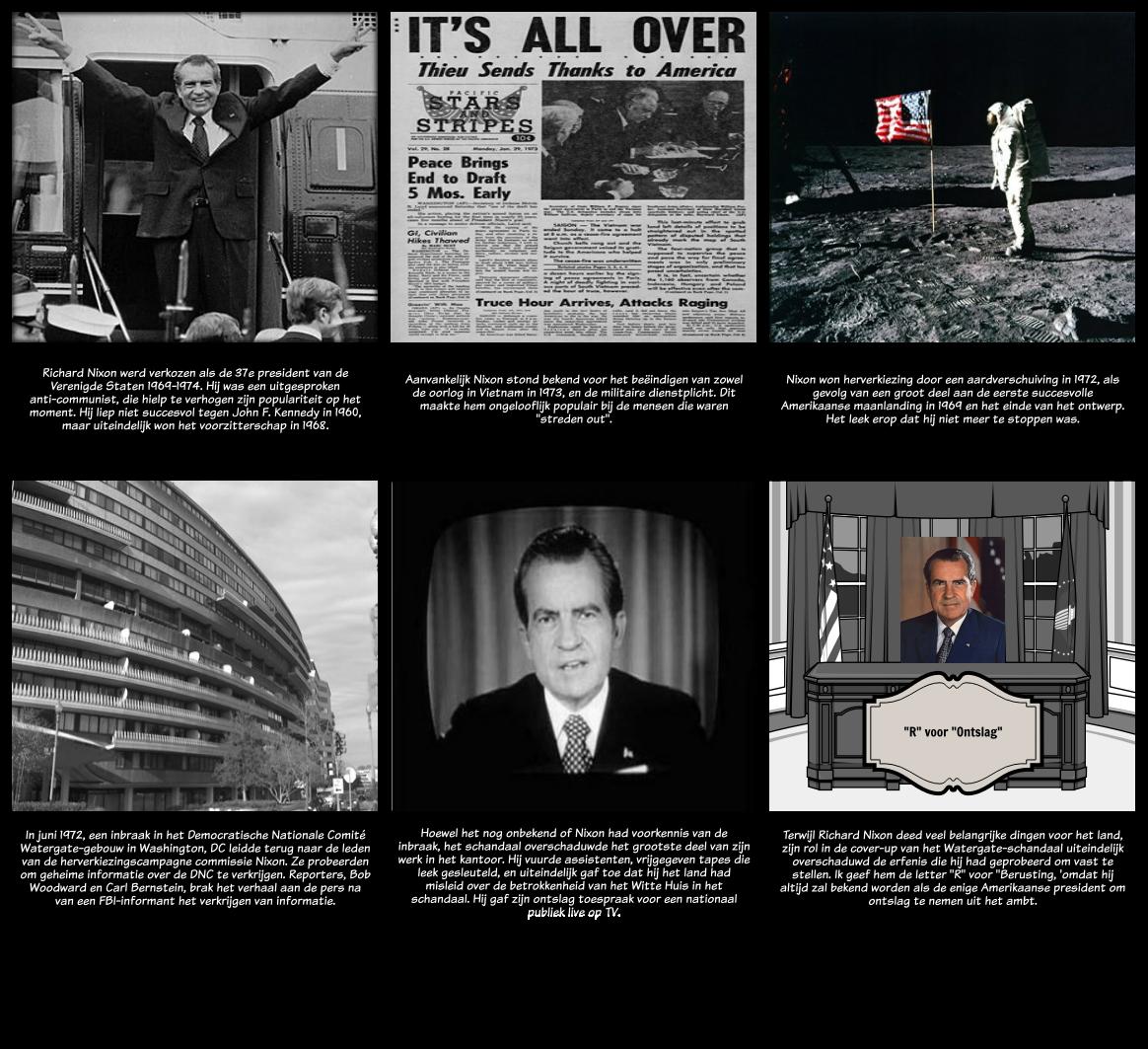 Schandaal in The Scarlet Letter - Richard Nixon