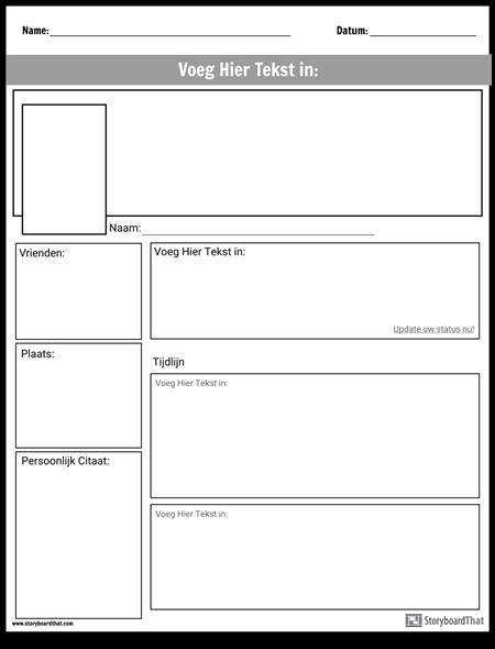 Social Media Projectpagina