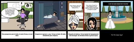 Spaans Reflexief Verb Story