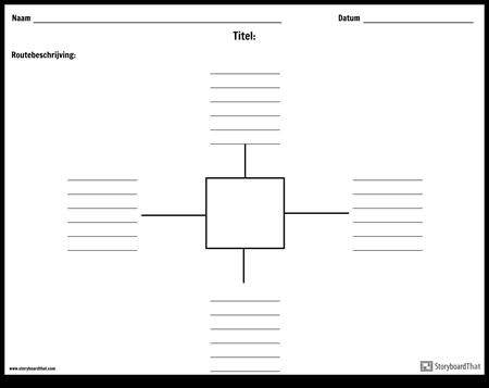 Spinmap met lijnen - 4