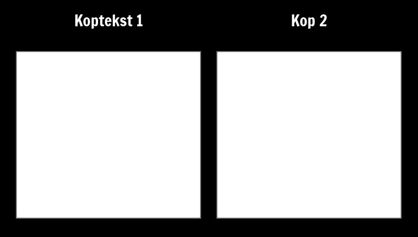 T-charts - Leeg
