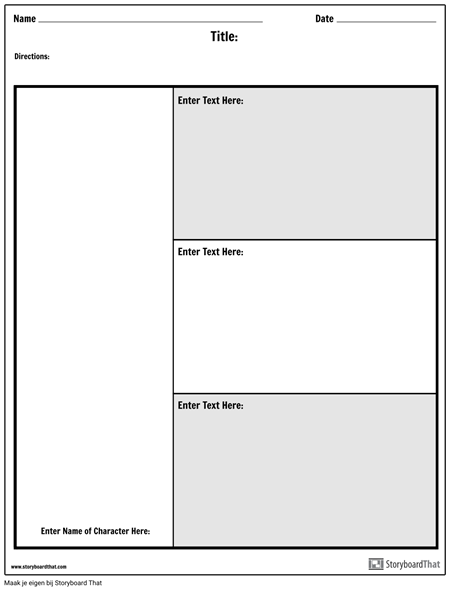 Tekenkaart - 3 Vragen