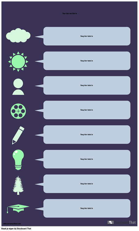 Tekstballon Infographic