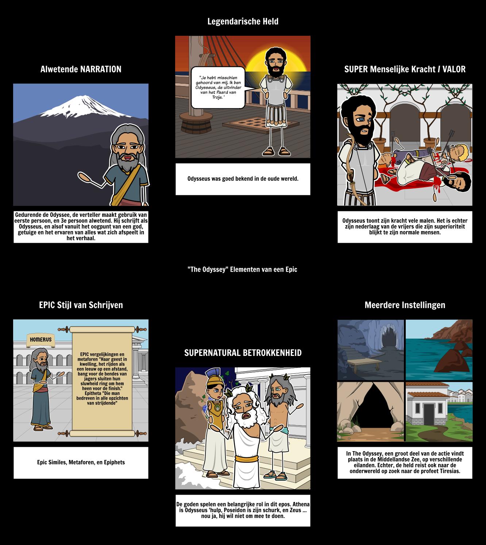 The Odyssey Elementen van een Epic
