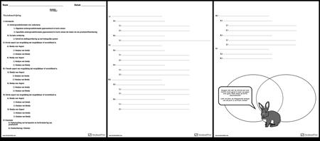 Vergelijk Contrast Outline