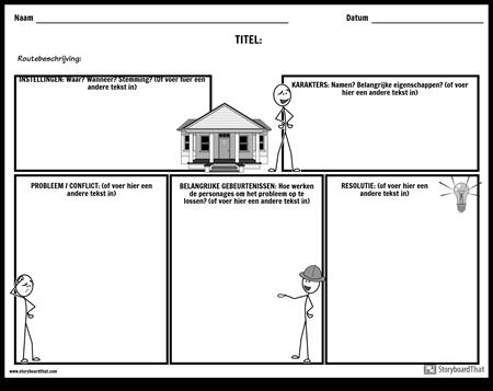 Verhaalkaart - Entry Boxes