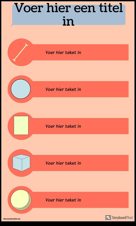 Vormen Infographic