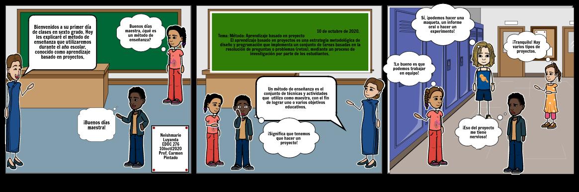 Tirilla cómica: Método de enseñanza- EDUC 276