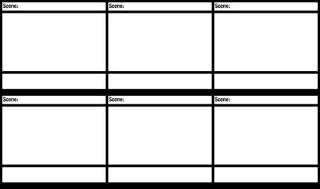 Blank Film Storyboard Mal