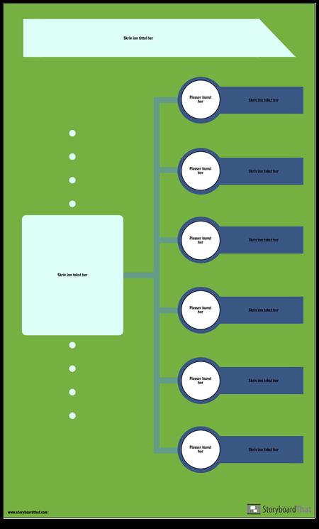 Blank Tidslinje Infographic