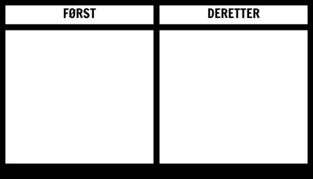 Først Deretter Board Utskriftsvennlig Mal