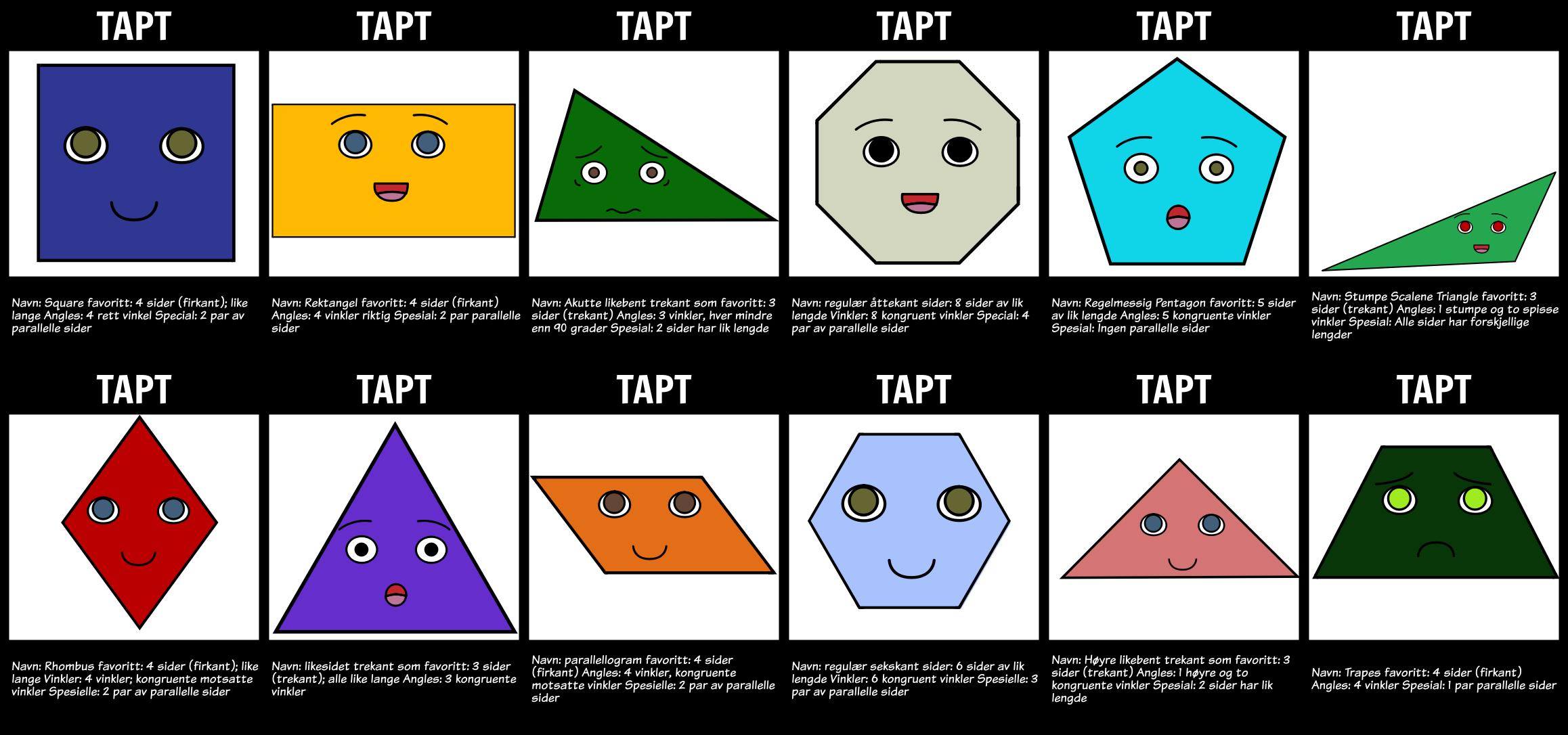 Intro til Geometri - Tapte Flyers